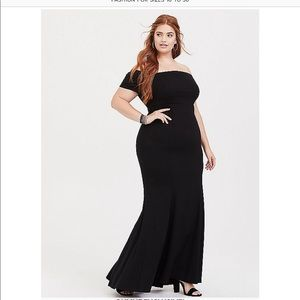 New Black Special Occasion Dress